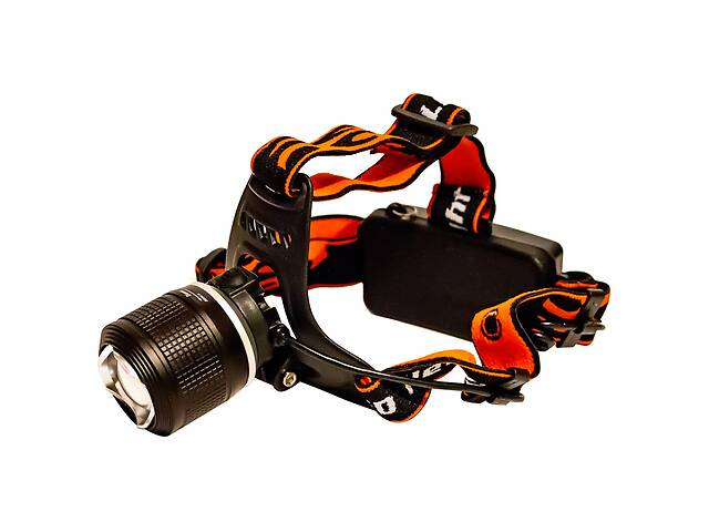 продам Самый яркий и мощный универсальный налобный LED фонарь на голову для рыбалки Police BL 2199 аккумуляторный бу в Харкові