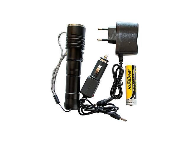 продам Фонарь ручной Hangli R6-T6 3 режима Bright Light Black бу в Харкові