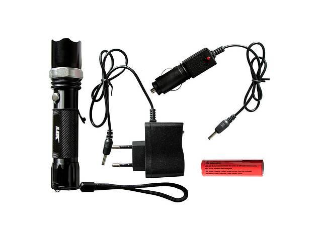 бу Тактический сверхмощный сверхъяркий светодиодный ручной аккумуляторный фонарь LJK качественный zoom фонарик в Харкові