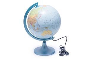 Глобус 250 политико-физический с подсветкой  (украинский) 540211