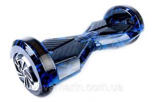 """Гироскутер / Гироборд Smart Balance Elite Lux 8"""" Синие Пламя +Сумка (Гарантия 12 Месяцев)"""