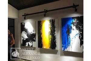 Інтер'єрний живопис, Модульні картини, живопис на холсті