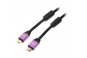 Кабель мультимедийный HDMI to HDMI 2.0m ferrite v1.4 Cablexpert (VC-HDMI-510-2m)