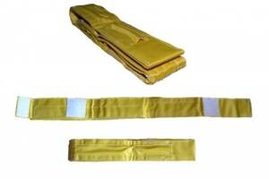 Карманы для антенн для пляжного волейбола Sprinter комплект из 2 шт стандарт FIVB Желтый (spr_19021)