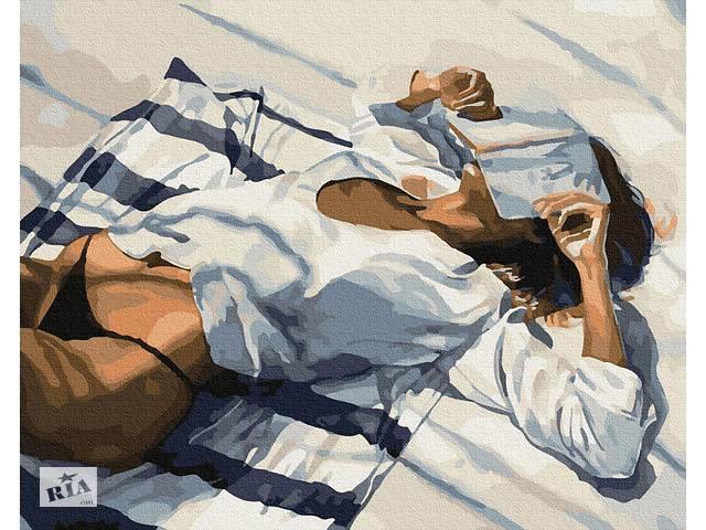 """продам Картина по номерам. Brushme """"Пляжный отдых"""" GX34193 бу в Одессе"""