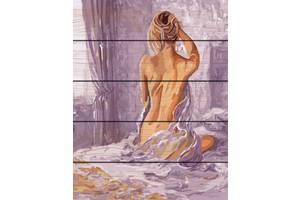 """Картина по номерам на дереве. Rainbow Art """"Утренее пробуждение"""" GXT8336-RA"""