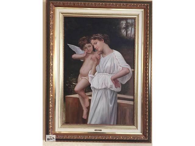 Картина в рамке, маслом «Angel»- объявление о продаже  в Киеве