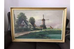 Картина старинная из Европы