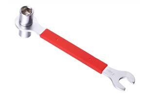 Ключ д/педалей 15мм и гаек 14/15мм KEN TECH KL-9725H