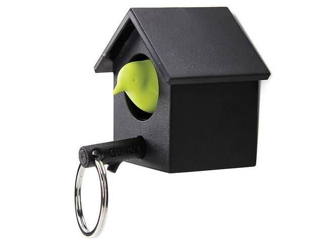 продам Ключница настенная с брелком-свистком для ключей 5,8x4x3,8 см. черно-зеленая Таиланд 115159 бу в Киеве