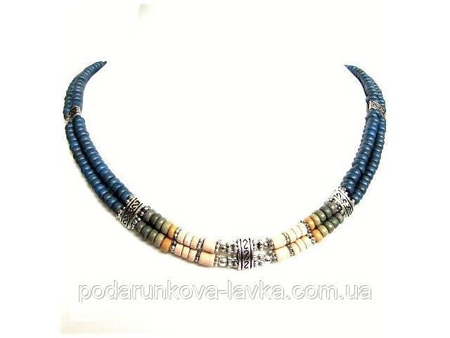 купить бу Колье, браслет, серьги - керамика спектр в Киеве