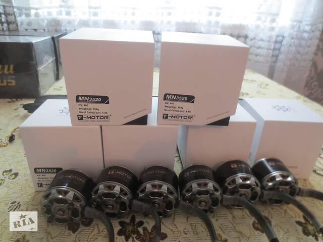 купить бу Комплект моторов T-motor 3520 KV400, регуляторов для квадрокоптера в Сквире