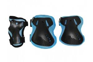 Комплект защитный SportVida SV-KY0005-L Size L Blue-Black SKL41-227694
