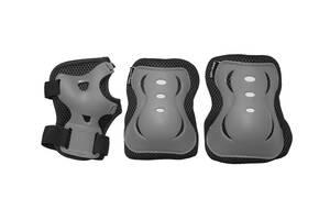 Комплект защитный SportVida SV-KY0007-L Size L Grey/Black