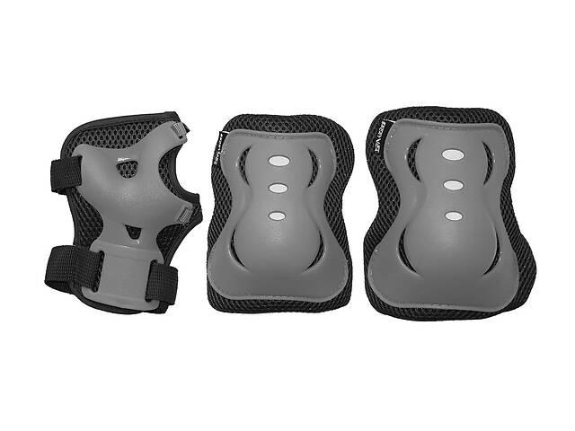 купить бу Комплект защитный SportVida SV-KY0007-L Size L Grey/Black  в Украине
