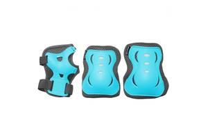 Комплект защитный SportVida SV-KY0008-L Size L Blue/Grey