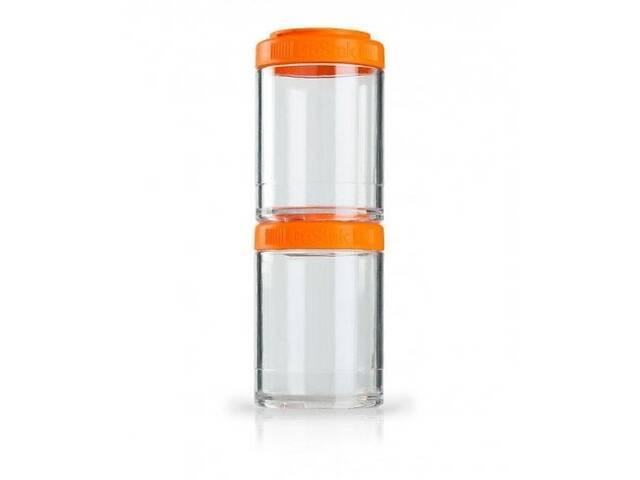 продам Контейнер спортивний BlenderBottle GoStak 2 Pak Orange Original SKL24-277231 бу в Києві