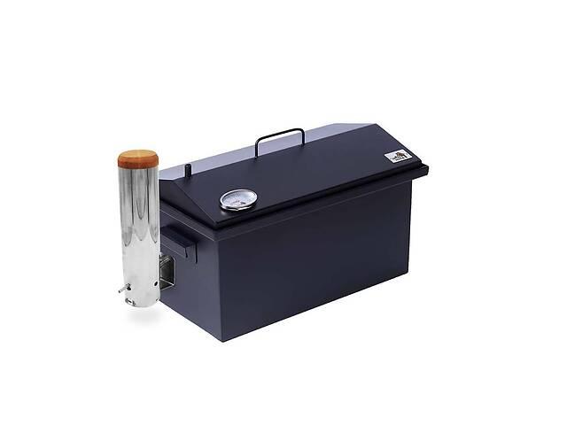 продам Коптильня с дымогенератором и термометром для горячего и холодного копчения Smoke House 520х300х280 Окрашенная бу в Киеве