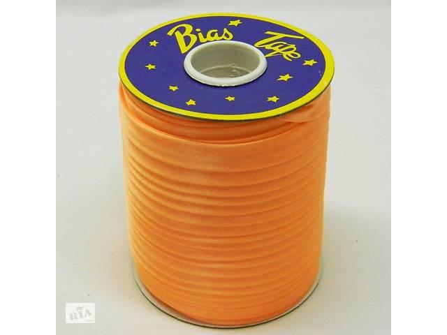 продам Косая бейка Super 3113 атласная 1.5 см х 100 м Оранжевая (Bios-3113) бу в Киеве