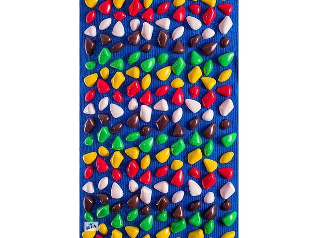 """Коврик массажный """"Ортопед"""" MS-1269 (синий ковролин)- объявление о продаже   в Украине"""