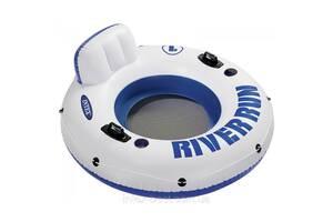 Круг-кресло надувное для плавания Intex 58825 со спинкой 135 см от 10 лет (bint_58825)
