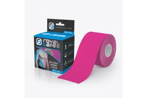 Кинезио тейп Royal Tapes 5 м - 5 см Розовый (234546)