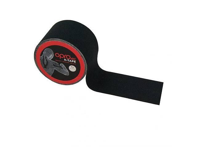 купить бу Кинезиологический тейп OPROtec Kinesiology Tape TEC57541 черный 5cм5м SKL24-252483 в Одессе