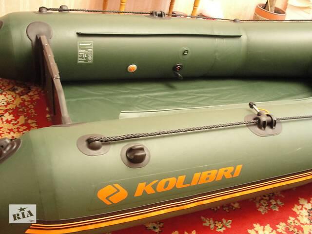 купить бу Новая транцевая лодка Колибри260 в Киеве