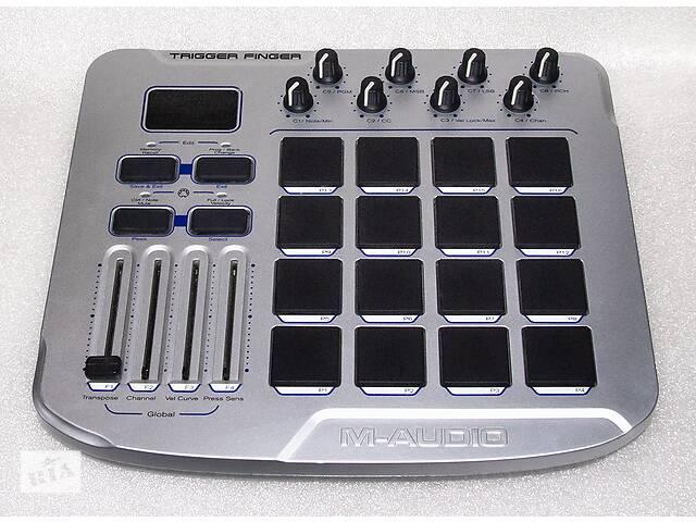 купить бу M-Audio Trigger Finger - MIDI контроллер USB электронные барабаны в Одессе