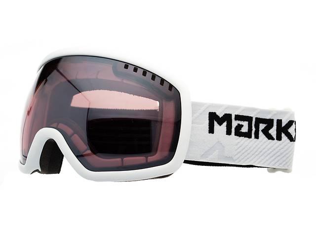 Маска гірськолижна Marker Big Picture Surround Mirror L White (168307.00.01.3)- объявление о продаже  в Львове