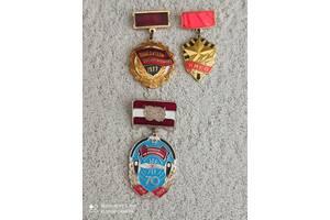 Медалі ювілейні, значки