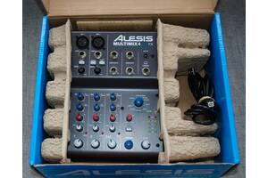 Мікшерний пульт ALESIS MultiMix 4 USB FX