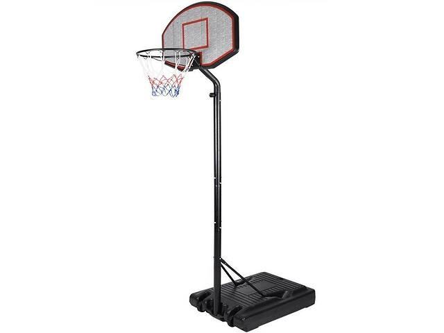 бу Мобильная баскетбольная стойка Lux 260 баскетбольное кольцо с регулировкой высоты 190 - 260 см (stl_207455) в Киеве
