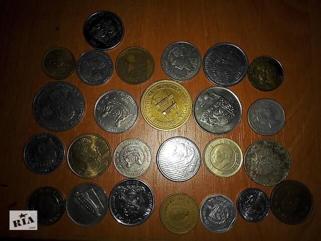 бу Монеты стран мира в Черноморске (Ильичевск)