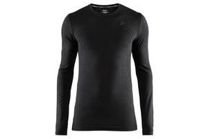 Мужская термофутболка Craft Fuseknit Comfort RN LS (black) M