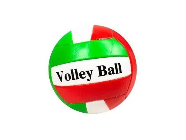 Мяч волейбольный  BT-VB-0058 PVC (Красно-зелёный)