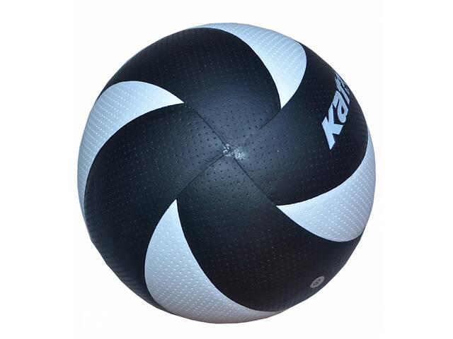 продам Мяч волейбольный Kata НК-8 клееный Черно-белый (spr_10067) бу в Киеве