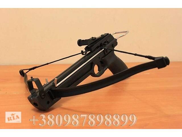 купить бу Міні Арбалет Man Kung MK-50A2 пістолетні типу Метал + 5 стріл в Києві