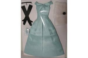 Набор кукольной одежды, аутфит на кукол 1:6 11.5, бирюзовое платье