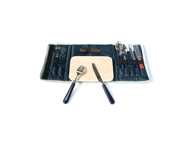 продам Набор посуды для пикника KingCamp PICNIC COOKING WALLET-2 KG2706, синий бу в Киеве