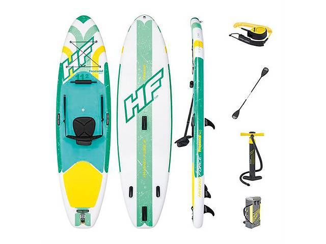 купить бу Надувная доска для плавания серфинга с веслом SUP-борд BESTWAY 65310  в Украине