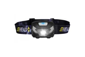 Налобный фонарь ST-0961-XPE с датчиком движения (47702-IM)