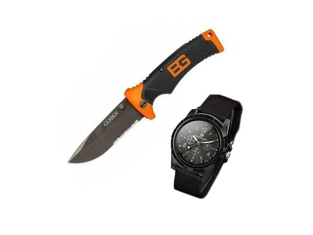 Нож Gerber Bear Grylls Ultimate и часы SwissArmy SKL11-207637- объявление о продаже  в Киеве