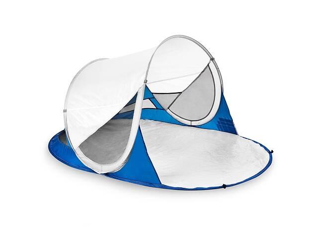 купить бу Палатка пляжная Spokey Stratus 190x120x90 см Бело-синяя в Одессе