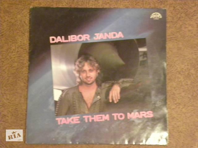 "продам Пластинка DALIBOR JANDA""Take them to mars"" бу в Одессе"