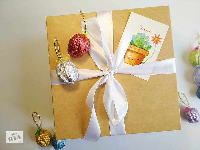 продам Подарочный бокс орешков с предсказаниями. Gift box бу в Днепре (Днепропетровск)