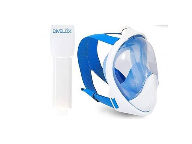 купить бу Полнолицевая маска для плавания DIVELUX Snorkel Mask S/M Синий (SN_109) в Киеве