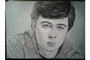 Портреты карандашом на заказ
