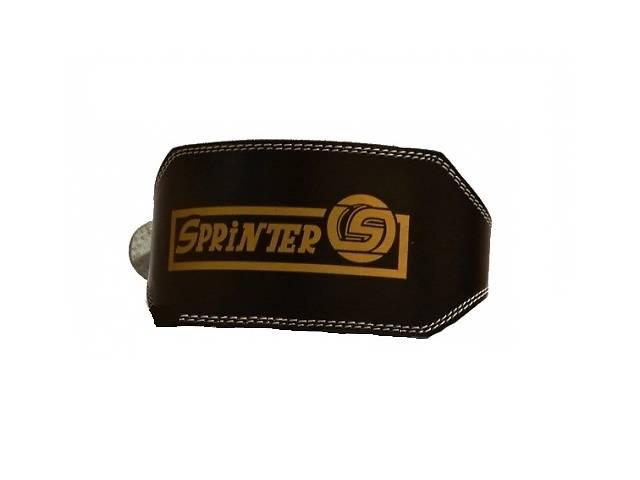 бу Пояс для тяжелой атлетики кожзам широкий Sprinter 222-291 Размер L Black (spr_21181) в Киеве