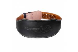 Пояс для тяжелой атлетики PowerPlay 5086 Черно-Коричневый XL SKL24-143952